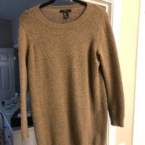 Forever 21 sweater tunic size large